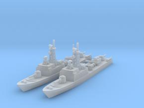 La Combattante III x2 (FUD) in Smooth Fine Detail Plastic: 1:1800