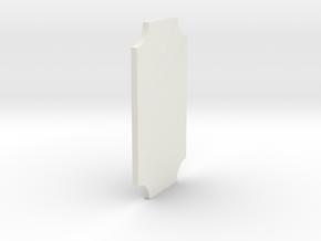 signObj in White Natural Versatile Plastic