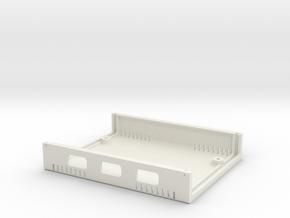 USB Sidecar for MiSTer Case B Shell (1/2) in White Premium Versatile Plastic