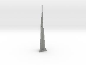 Burj Khalifa - Dubai (1:6000) in Gray Professional Plastic
