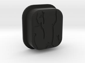 STRSS3D Mech Squonk Button in Black Natural Versatile Plastic