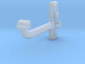 Signal Semaphore Arm (Long) no bolts 1:19 scale in Smooth Fine Detail Plastic