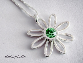 daisy-belle in Fine Detail Polished Silver