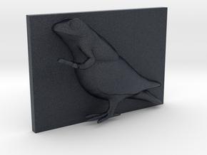 FrogDove Caricature (001) in Black PA12