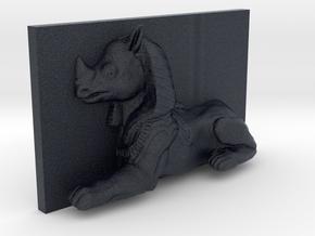 RhinoSphinx Caricature (001) in Black Professional Plastic