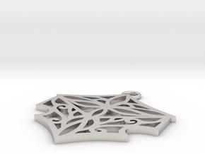 Adalina pendant in Platinum: Small