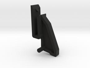 Thorens Turntable Dustcover Hinge - Upper in Black Natural Versatile Plastic