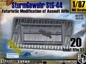 1/87 Sci-Fi StG 44 Set001 in Smooth Fine Detail Plastic