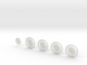 28 DUB x90 26.2 in White Natural Versatile Plastic