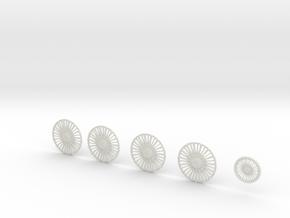 28 Homage 26.2 in White Natural Versatile Plastic