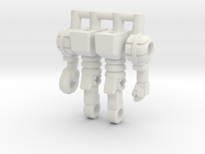 Waruder Kuwagatrer Inchman Limbs in White Natural Versatile Plastic