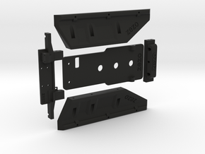 TRX-4 G-Class Hard Body Mount (w/ Winch) in Black Natural Versatile Plastic