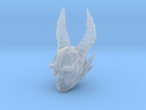 mythic demon head 1 in Smooth Fine Detail Plastic