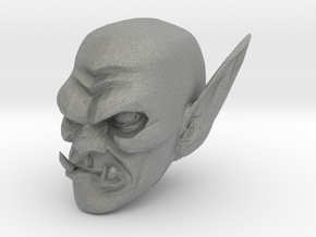 orc head 2 in Gray PA12