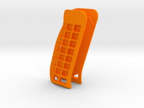 CZ Palm Style Cutaway Grips in Orange Processed Versatile Plastic