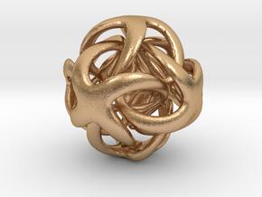 OctaDigit - 22mm in Natural Bronze