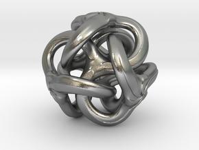 TRI Bolo  - Whirl - 22mm in Natural Silver