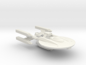 System Fleet NX Dreadnaught in White Natural Versatile Plastic