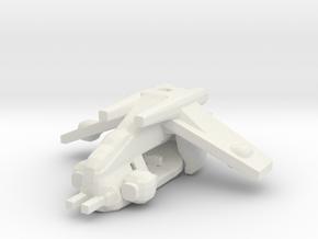 Republic LAAT Gunship in White Natural Versatile Plastic: Medium