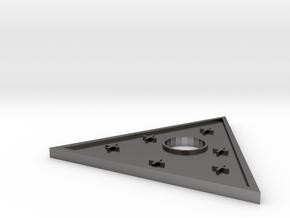 D&D Silver Piece in Polished Nickel Steel