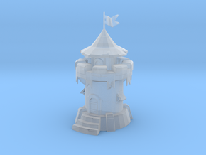 Defence Tower in Smooth Fine Detail Plastic