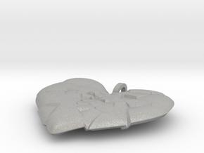 My Shattered Heart - Pendant in Aluminum