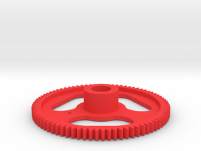 Aerodynic Light Gear - 0X - Not Drive in Red Processed Versatile Plastic