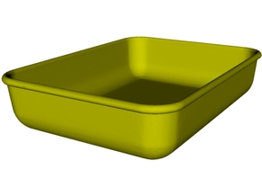 1/18 scale maintenance oil tray x 1 in Smooth Fine Detail Plastic