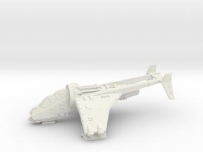 15mm Buzzard Gunship (Unloaded) in White Natural Versatile Plastic