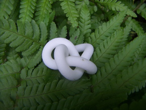 Knot-254-full in White Natural Versatile Plastic
