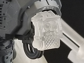 Small Knight – Industrial Faceplate in Smoothest Fine Detail Plastic