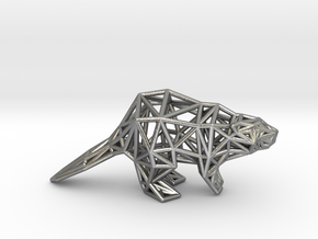 American Beaver (adult) in Natural Silver