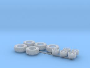 H0 1:87 Reifen 285/75 R16 in Smooth Fine Detail Plastic