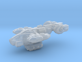 Wyvern Dropship w / cargo module in Smooth Fine Detail Plastic