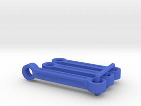 Tamiya TA02 F150 Prerunner steering links, TA02T in Blue Processed Versatile Plastic
