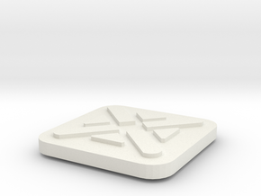 Imperial Assault Activation Marker in White Natural Versatile Plastic
