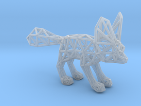 Fennec Fox (adult) in Smooth Fine Detail Plastic