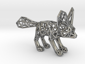 Fennec Fox (adult) in Natural Silver