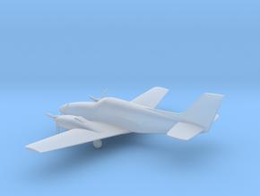 Beechcraft Baron G58 in Smooth Fine Detail Plastic: 1:64 - S