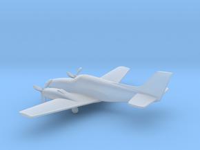 Beechcraft Baron G58 in Smooth Fine Detail Plastic: 1:200