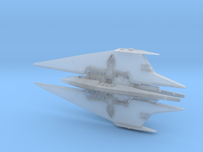 Narn - BinTak Dreadnought (4.998 x / 2.368 y / 1.4 in Smooth Fine Detail Plastic