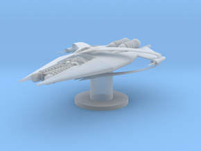 Narn - GQuan Cruiser (5 x / 2.844 y / 1.556 z) in Smoothest Fine Detail Plastic
