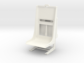 1.6 AIRWOLF SEAT (B) in White Processed Versatile Plastic