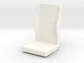 1.6 AIRWOLF SEAT (A) in White Processed Versatile Plastic