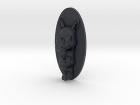 Rhino Multi-Faced Caricature (003) in Black PA12