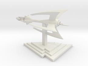 Drakh - Fighter (2.3 x / 1.9 y / 1.7 z) in White Natural Versatile Plastic