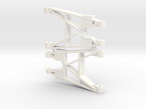 Reborn91, ARMS, REAR in White Processed Versatile Plastic
