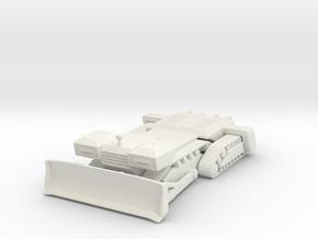 Planet dozer 160 scale in White Natural Versatile Plastic