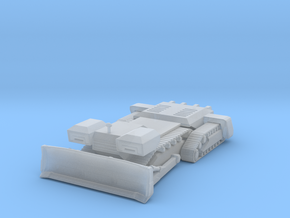 Planet dozer 160 scale in Smooth Fine Detail Plastic