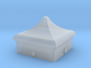 Signal Finial (Square Cap) 1:24 scale in Smooth Fine Detail Plastic